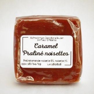 Caramel praliné noisettes